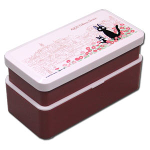 Kiki's Delivery Service 2-tier Bento Box -- Town where Jiji Lives 