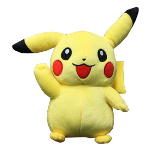 Pikachu Pokemon Best Wish Plush