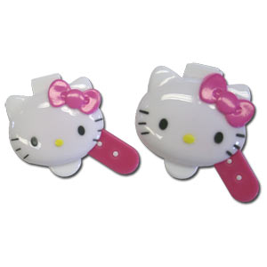Hello Kitty Die-cut Mayonnaise Cup & Spoon Set