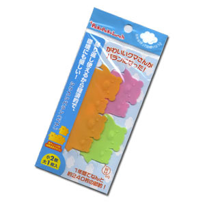 Bear Silicon Reusable BARAN for Bento