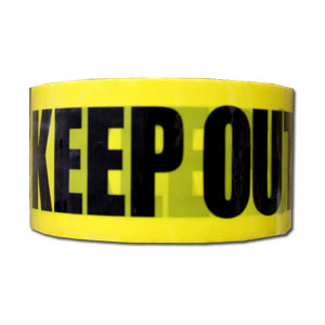 DECO Packing Tape ~ Keep Out