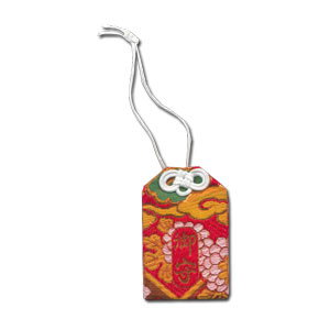 Red Dragon Omamori ~ Japanese Shinto Luck Charm