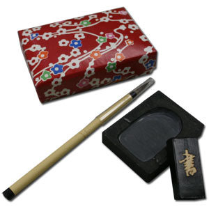 SHODO ~ Natural Stone Mini Calligraphy Set