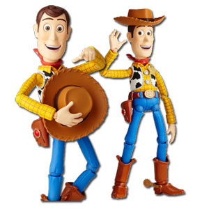 Sci-fi Revoltech No.010 Woody ~ Toy Story (Reissue)