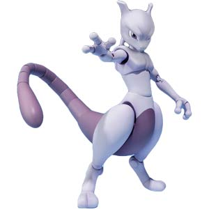 Mewtwo D-ARTS Action Figure ~ Pokemon (REISSUE)