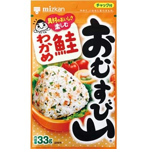 OMUSUBIYAMA Seaweed & Salmon  Colorful Flavor ONIGIRI Mix
