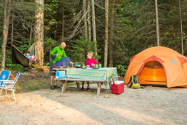 Camping - Enjoy Quebec's Nature at its Finest - Sepaq