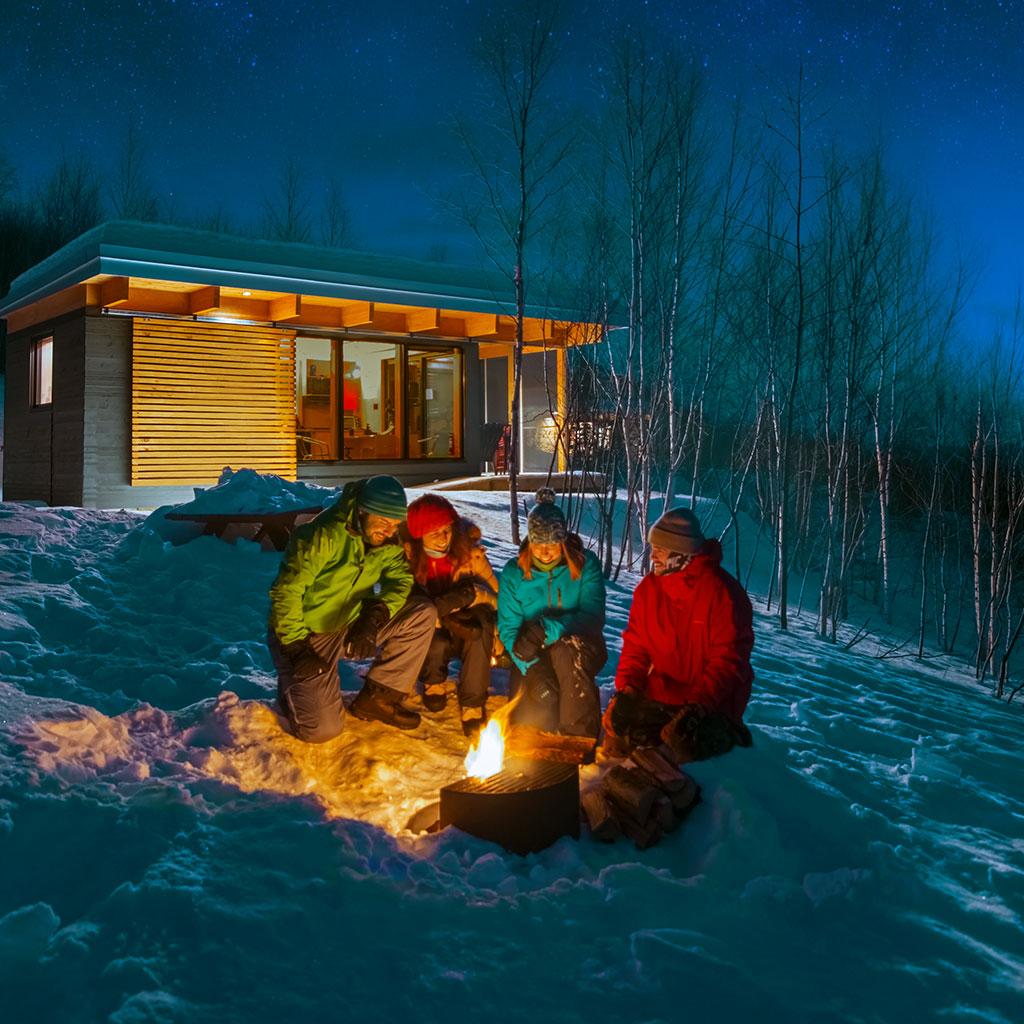 Contest winter here we come sepaq for Porte et fenetre vaillancourt sept iles