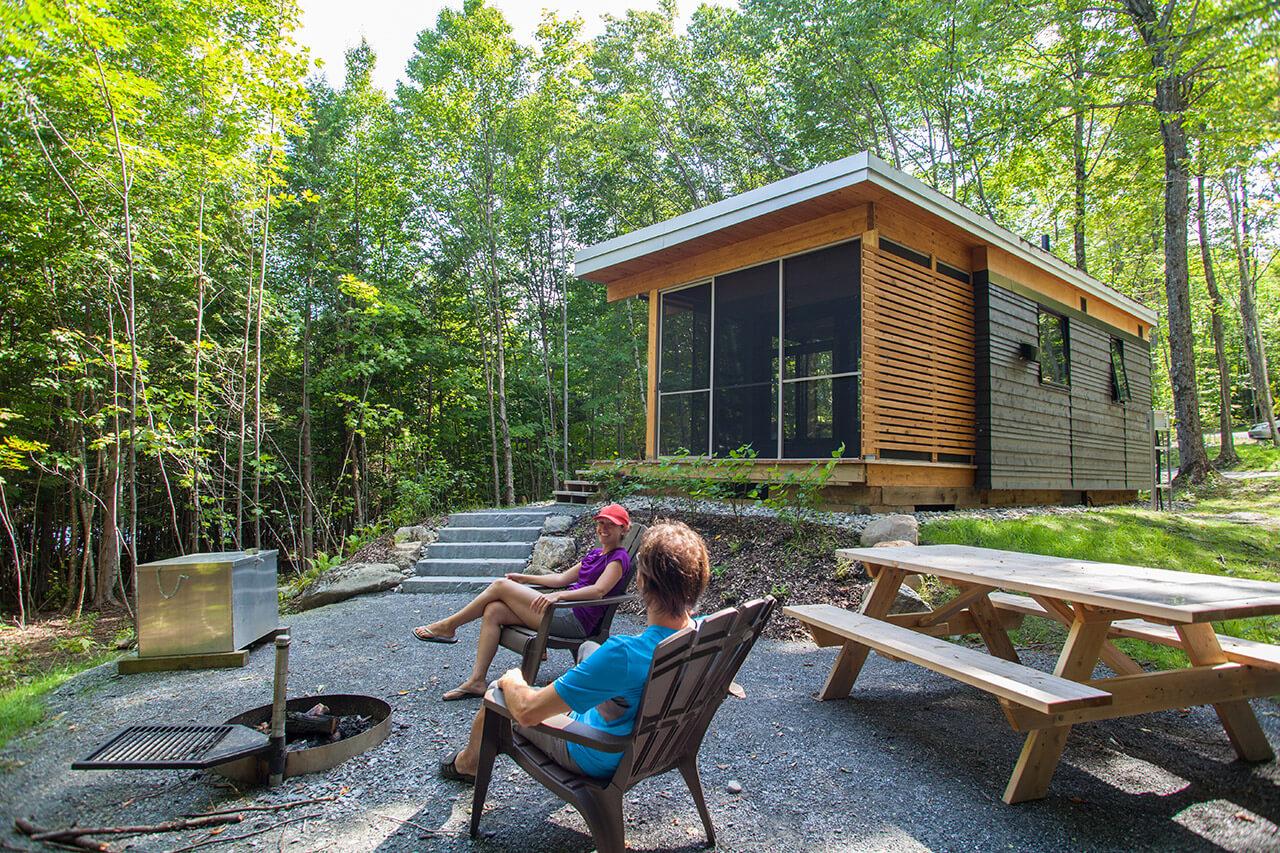 Louez un chalet exp chalets exceptionnels en plein air for Camping bic
