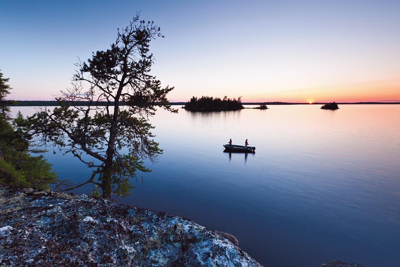 La pêche sur le ver sec maritime