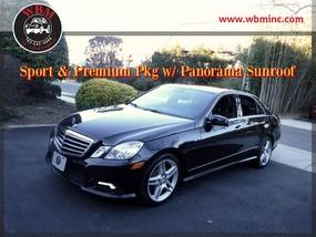 2011 Mercedes-Benz E350 4MATIC Sport w/ Premium Pkg in Arlington, VA