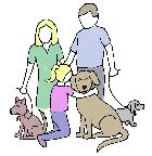 Dogs As Family Logo