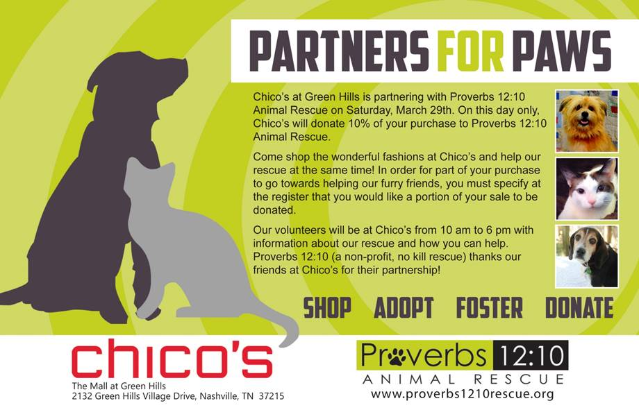 Partners for Paws