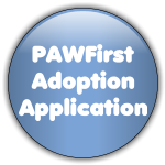 Pawfirst adoption app button