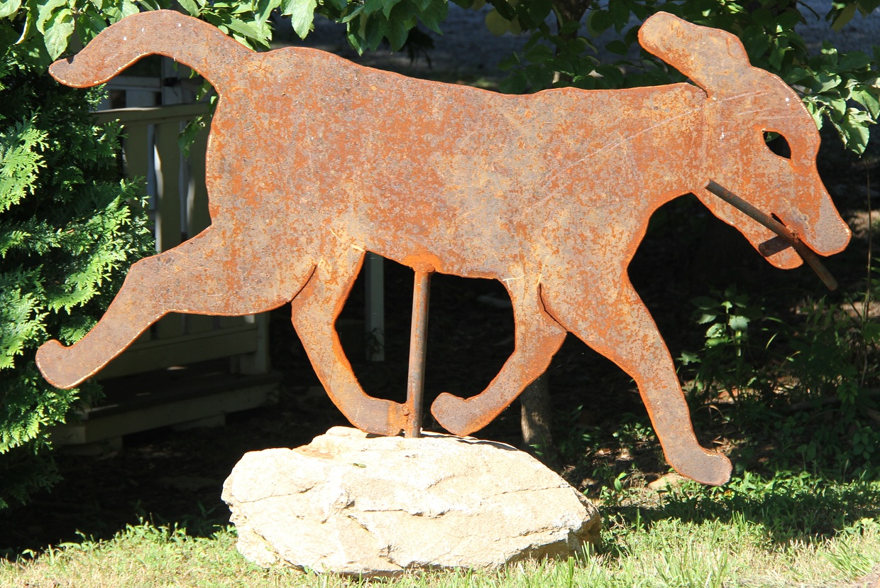 2014 - Dog Sculpture