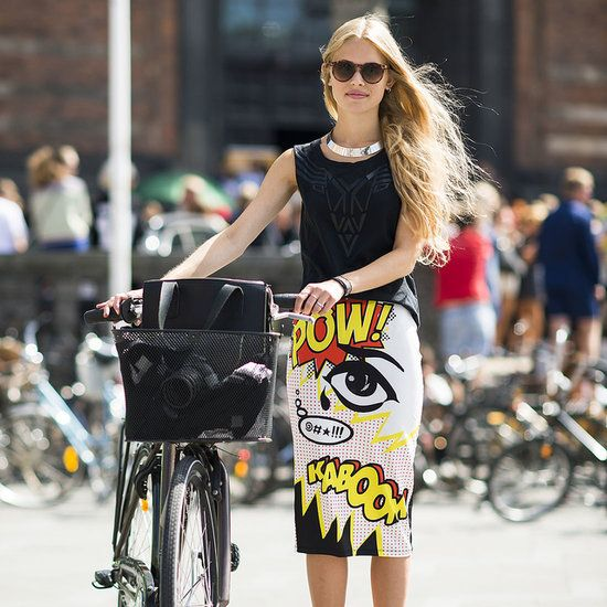 SCHUMACHER  Pop Print Pencil Skirt