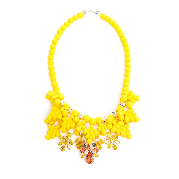 EK THONGPRASERT Impatiens Fusion Embellished Silicone Necklace