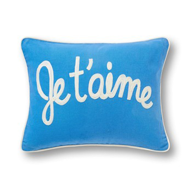 C WONDER    Je T'aime Pillow Cover