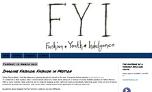 Fashion, Youth, Indulgence