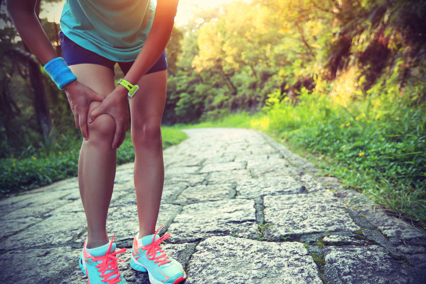 desgaste do joelho