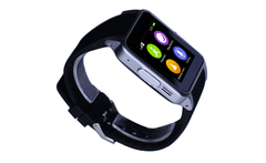 Unlocked Quad-Band GSM Smart Watch Phone For IOS iPhone 6/puls/5S Samsung S4/Note 3 HTC Android Smartphones Support Sim Card TF - AliExpress