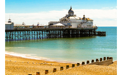 Eastbourne, Breakfast, Dinner & Wine for 2 £79 for an Eastbourne break for two with breakfast, a three-course dinner and a glass of wine, £129 for two nights, or £189 for three nights - save up to 47% - wowcher