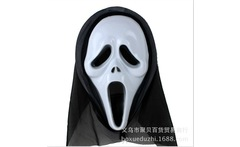 Horror Masks Scream Mask Halloween Vampire Skeleton King ghosts Witch ghost Ghost smile teeth exposed Mask Y042 - AliExpress