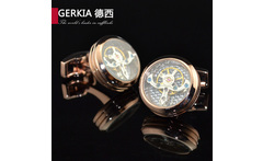 Print box original mechanical watch core cufflinks male French nail sleeve shirt cufflinks - AliExpress