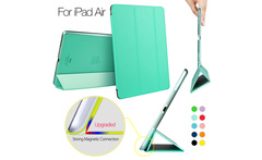 ESR Yippee Color Series Transparent Back Ultra Slim Light Weight Trifold Smart Cover Case for iPad Air - AliExpress