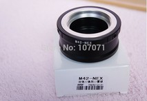 Lens Adapter Lens mount Adapter Ring M42-NEX For M42 Lens And  NEX E Mount body NEX3 NEX5 NEX5N NEX7 NEX-C3 NEX-F3 NEX-5R NEX6 - AliExpress