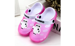 New 2016 Boy Girls Sandals Brand Anti Skid Tread Empty Summer Soft Leather Two Layer Beach Slippers Cartoon Children Shoes - AliExpress