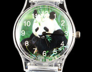 Panda Lovely Children Boy Girl Cartoon Kid Sport Transparent China Deals Baby Gift Watch - AliExpress