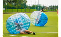 1hr Bubble Football Session for 10 or 20 - 8 Locations! £99 instead of £250 for bubble football for up to ten people, £149 for up to 20 people with Spartacus Bubble Soccer - choose from eight locations and save up to 60% - wowcher