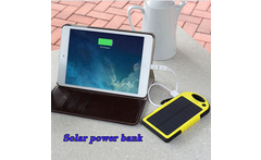 12000mAh 150g mobile phone solar power bank colorfull solar charging multi-output USB port for Camping for all mobile phone - AliExpress