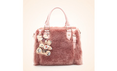 Famous Brands Women Leather Handbags Designer Women Bag wool villi covered Bag High Quality Shoulder Bags Luxury Hand Bags - AliExpress