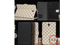 For galaxy tab s 8.4 business style Plaid Leather Case for Samsung Galaxy Tab S 8.4 T700 T701 T705 with Card Holders Tablet YD - AliExpress