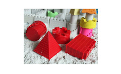 Children's educational sand toys fantasy castle mold for play sand Moon Mars magic sand special sand tools for kids wholesale - AliExpress