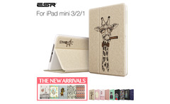 ESR Illustrators Series Folio Case Stand with [Auto Wake Up/Sleep Function] Smart Cover Case for iPad mini 1/2/3 - AliExpress