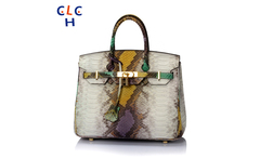 Serpentine Bag Genuine Leather Handbag Vintage Women Bag designer handbags high quality Colorful Snake Tote Fashion Shoulder Bag - AliExpress