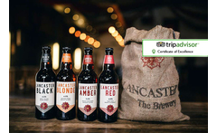 Lancaster Brewery Tour for 2 with Pork Pies, Pickles & 3 Pints Each £19 instead of £58 for a brewery tour with handmade pork pies, pickles and up to three pints each at Lancaster Brewery - save 67% - wowcher