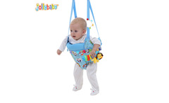 Jollybaby happy baby toddler toy fitness fitness swing jumping jumping dual-purpose Park - AliExpress