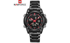 NAVIFORCE 2016 New watches men luxury brand fashion casual business Sports Wrist watches Dual time Digital Analog Quartz Watch - AliExpress
