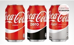 24 o 48 latas de Coca-Cola® regular, Zero o Light. Incluye despacho - Groupon