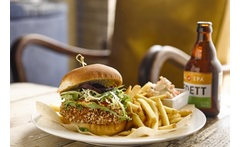 Burger & Cocktail for 2 @ Revolution £14 instead of up to £40.40 for a choice of burger and cocktail each for two people at Revolution, Edinburgh - save up to 65% - wowcher