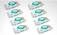 Desde $10.990 por 8 o 16 paquetes de toallitas húmedas Pampers Sensitive. Incluye despacho - Groupon