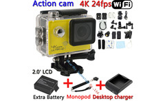 Real Ultra HD 4K 24FPS WIFI Action Camera Diving 2.0