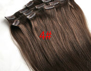 Hot Sale Full Head Clip in Real Human Hair Extensions  14