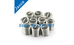 M8*1.25*1.5D   Stainless Steel A2 Wire Thread Insert /Thread Repair / Screw Bushing SUS 304 wire thread insert M8 - AliExpress
