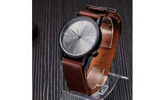 2016 New Ultra Thin Leather Strap Watch, Geneva Simple Dial Men'S Watch KOMONO Leisure Fashion Quartz Watch PL143 - AliExpress