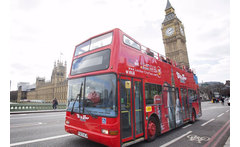 Open Top \'Hop On, Hop Off\' London Bus Tour £6.50 instead of £11 for a child ticket for a \'hop on, hop off\' bus tour, £14.50 for an adult ticket with London City Tour - save up to 41% - wowcher